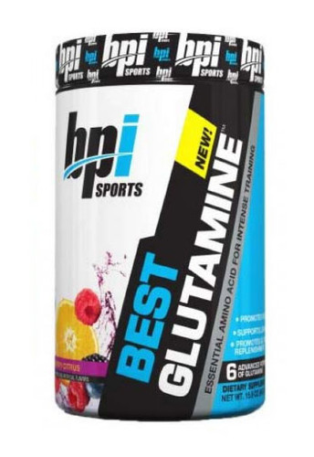 Bpi Sports Best Glutamine - Berry Citrus, 50 Servings