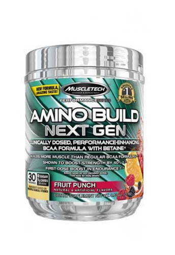 Muscletech Amino Build Next Gen - Fruit Punch, 30 Servings