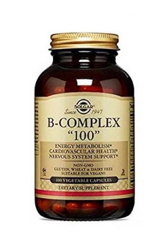 Solgar B-Complex 100 Non Flavoured - 100 Capsules