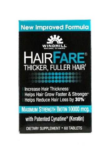 Windmill Hair Fare - 60 Capsules