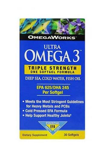 OmegaWorks Ultra Omega-3, - 30 Soft Gels