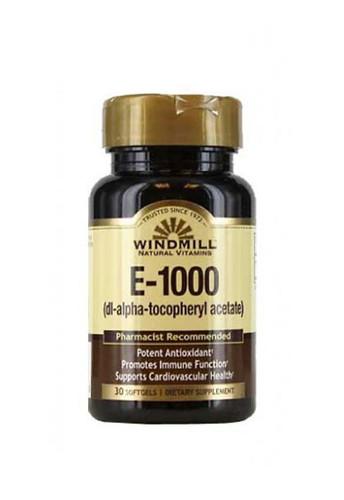 Windmill Vitamin E - 1000 IU 30 Softgels