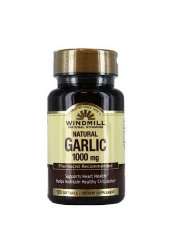 Windmill Garlic 1,000mg - 100 Softgels