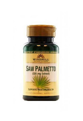 Windmill Saw Palmetto 320 Mg - 60 Capsules