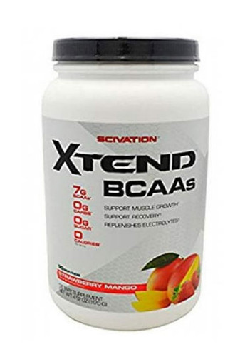 Scivation Xtend BCAAs - Strawberry Mango, 90 Servings