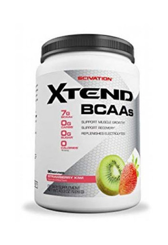 Scivation Xtend BCAAs - Strawberry Kiwi, 90 Servings