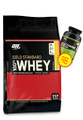 100% Whey Gold STD 10Lb Double Chocolate+ ON Glutamine 300g FREE