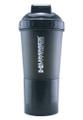 HUMMER USA Fitness Shaker Bottle Black