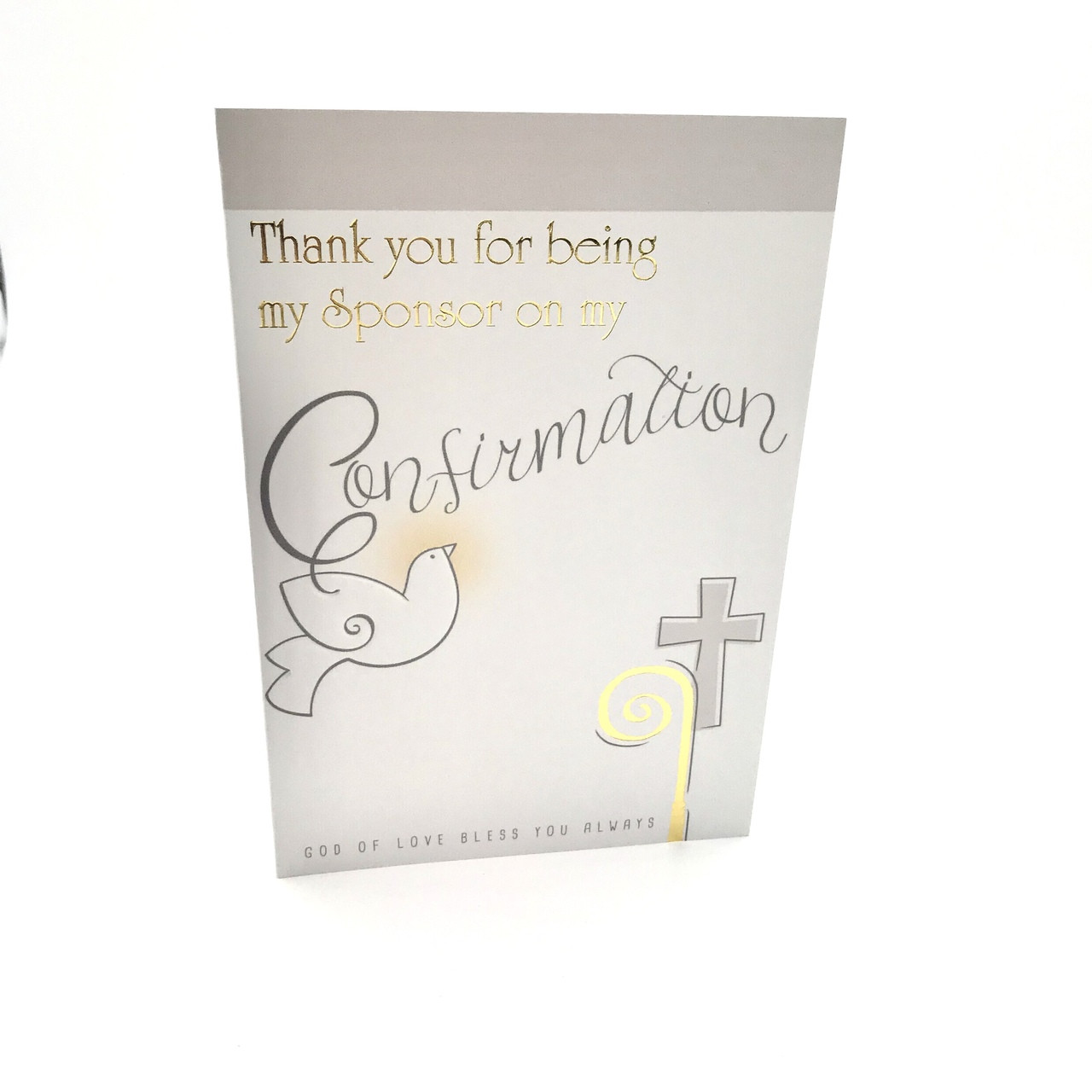 buy card for a confirmation sponsor