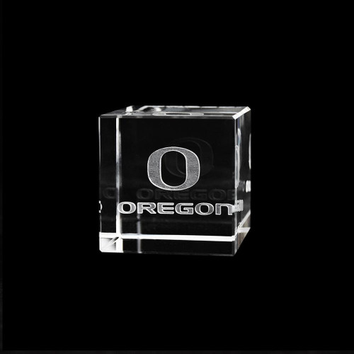 Oregon Ducks Crystal Cube