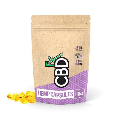 CBDfx 200mg Full Spectrum Organic Hemp Capsules