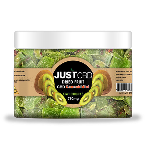JustCBD 750mg Dried Fruit and Gummy Bears