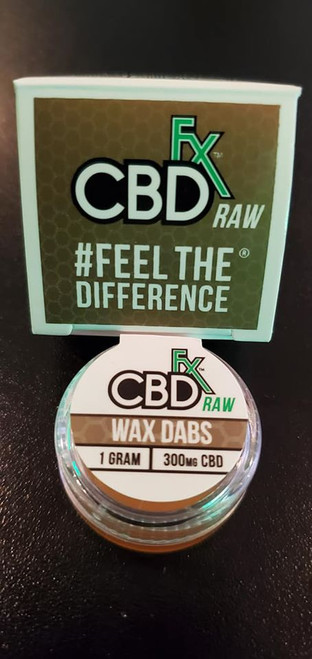 CBDfx RAW CBD Wax Dabs 1g (Full Spectrum)