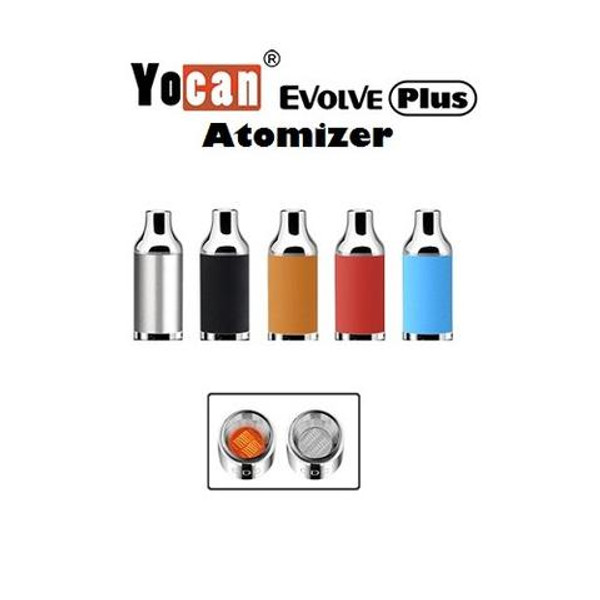 Yocan Evolve Plus Atomizer ONLY (Concentrates) - Black