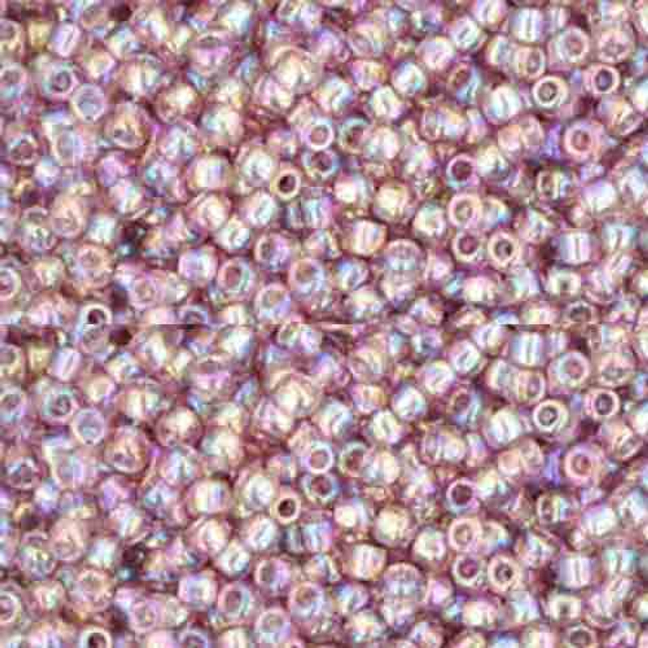 Round 80 #121 /'Opaque Lustered White/' Toho Seed Beads 8 Grams