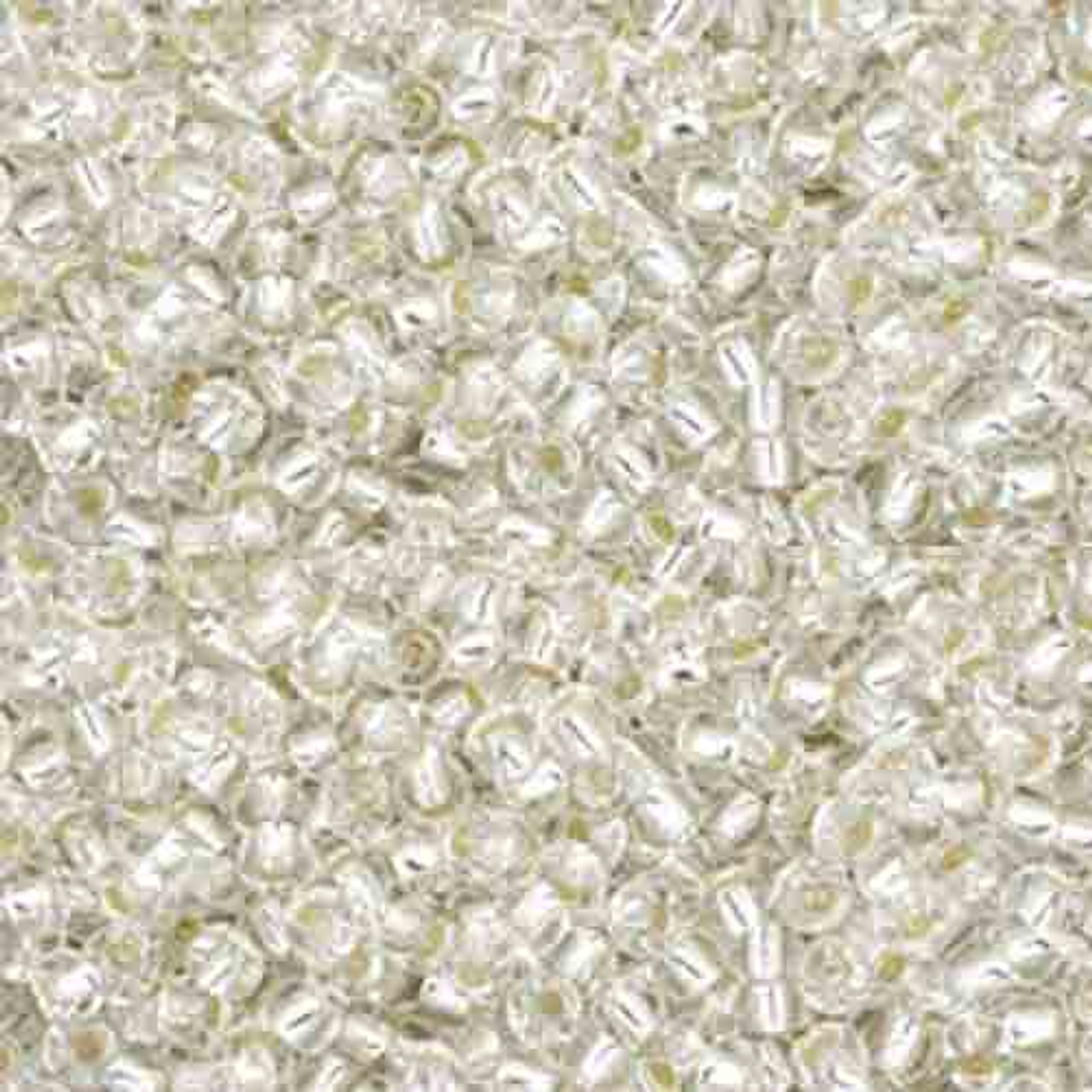 8//0 Silver Lined Crystal TOHO Round Glass Seed Beads 15 grams #21