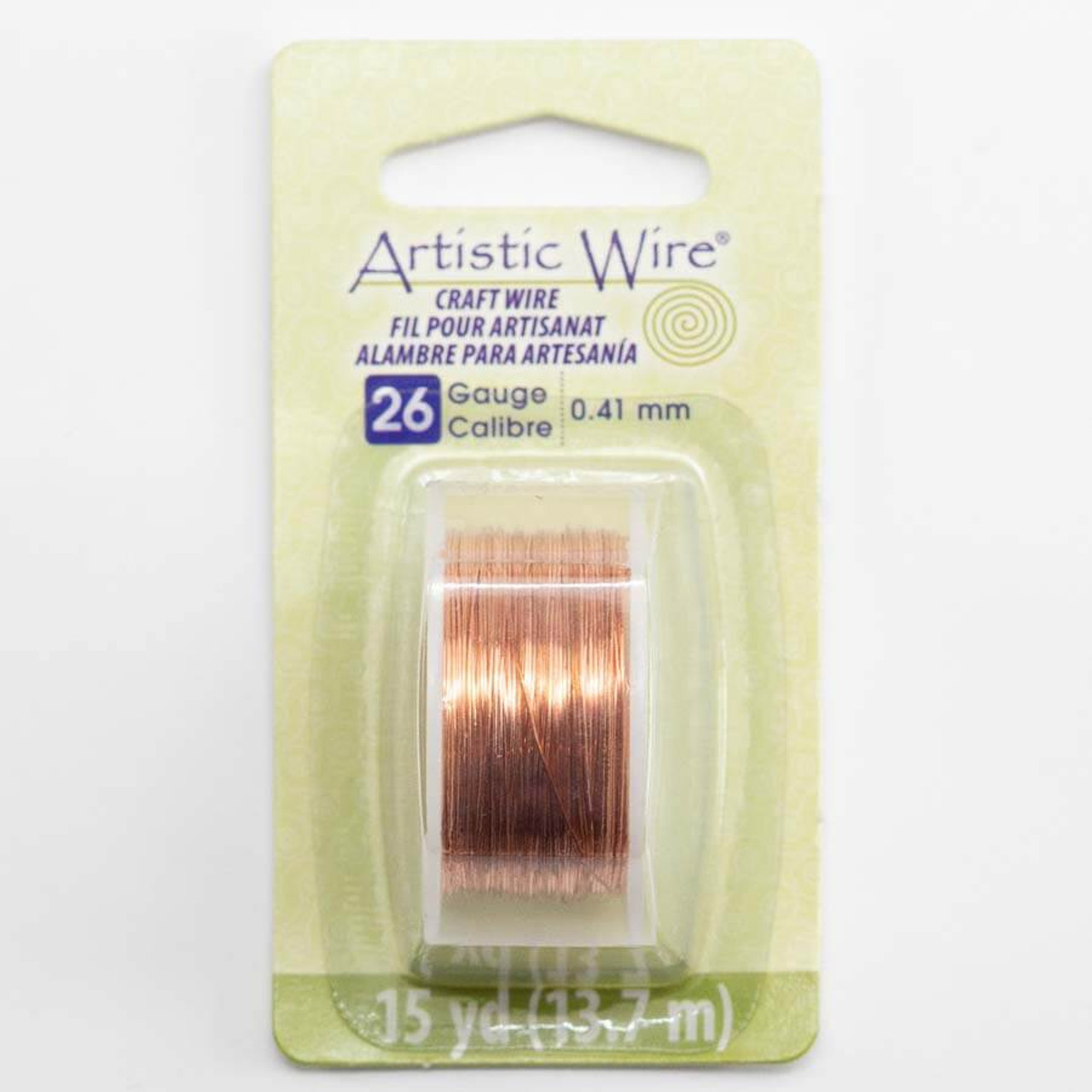 20 Gauge Bare Copper Artistic Wire Spool 15 Yards Jewelry Making Tool