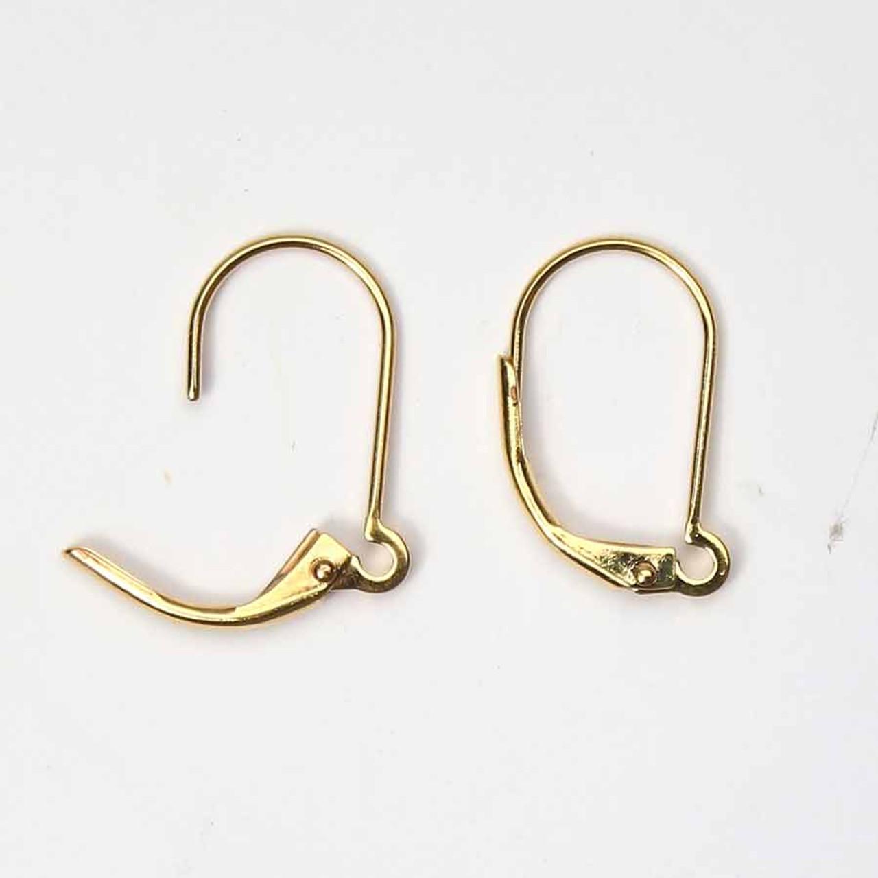 10pc 5 PR Lot 925 Sterling Silver Filled OPEN LOOP EURO Lever Earrings Finding