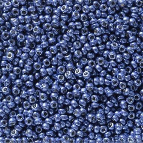 NEW! 10 Grams 11-5114 Size 11 Duracoat Galvanized Dark Capri Blue Seed Beads