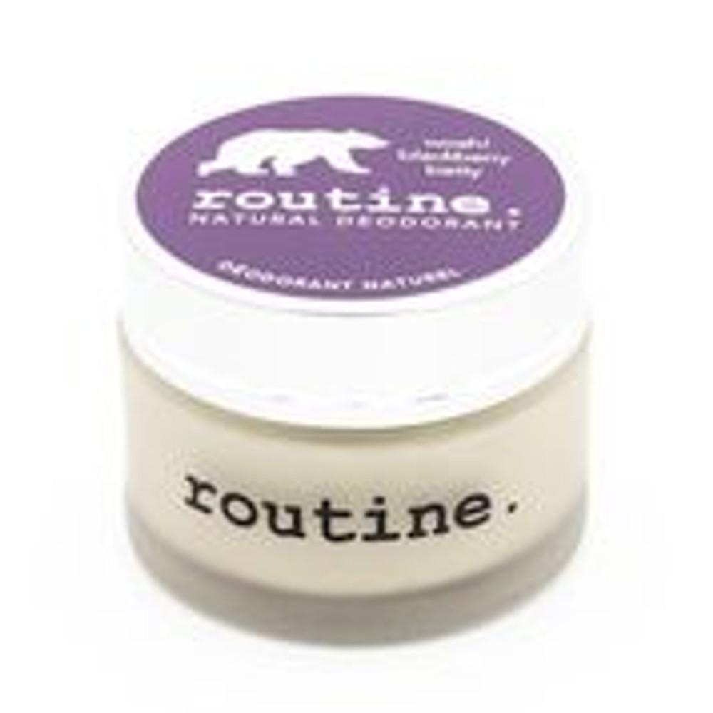 All natural deodorant cream bu Routine, Blackberry Betty