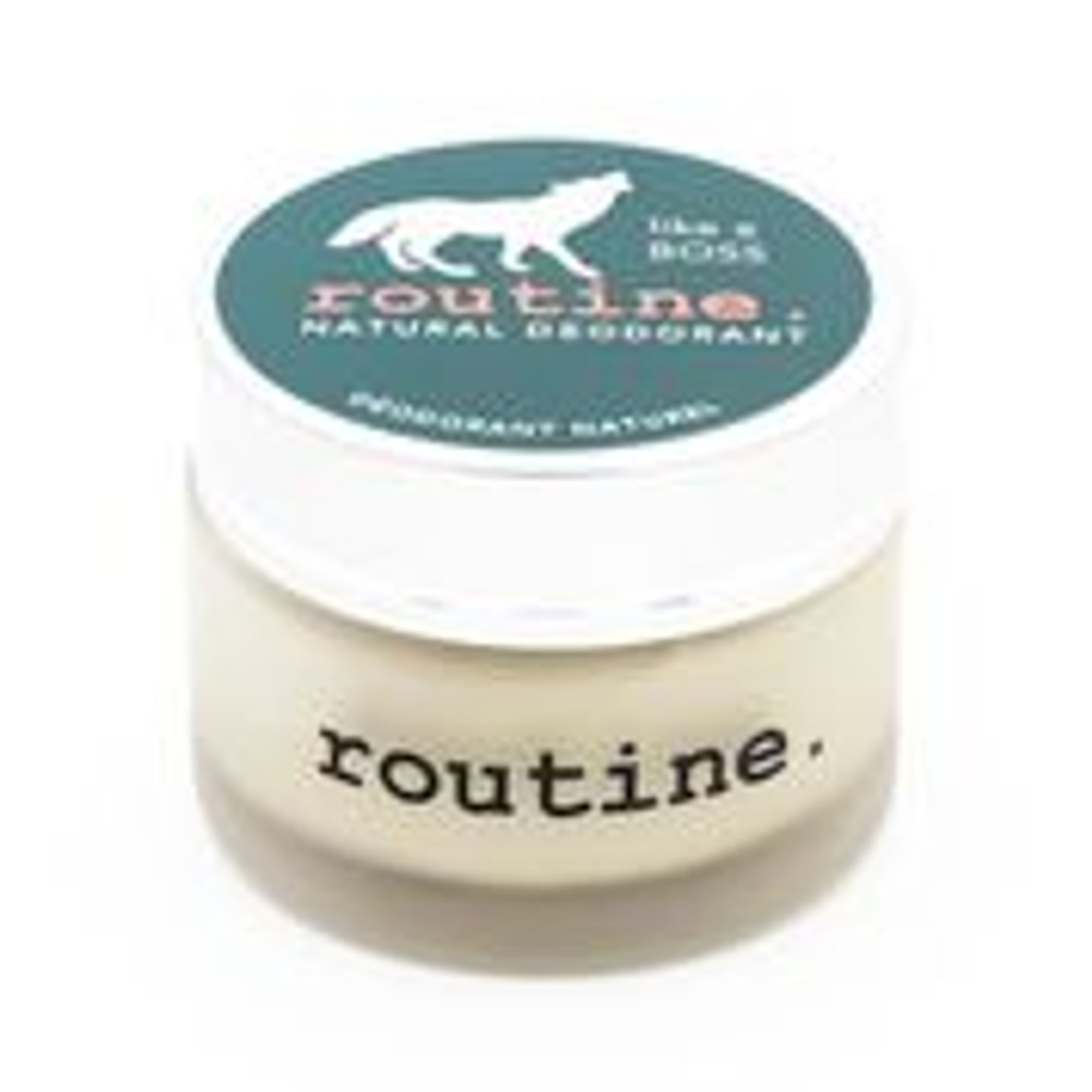Routine Like a Boss all natural deodorant