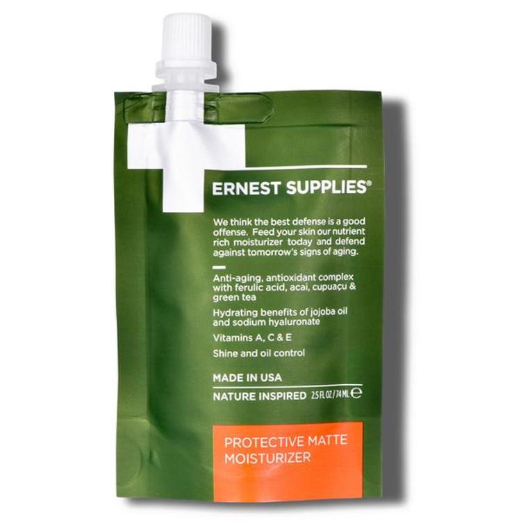 Ernest Supplies Protective Matte Moisturizer for healthier skin
