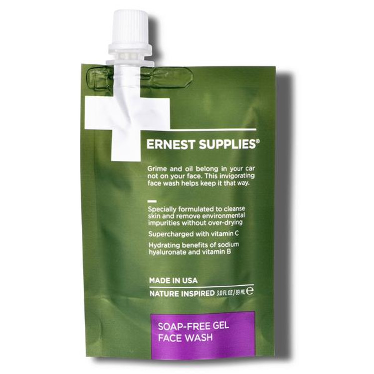 Ernest Supplies SOAP-FREE GEL FACE WASH - TECH PACK™
