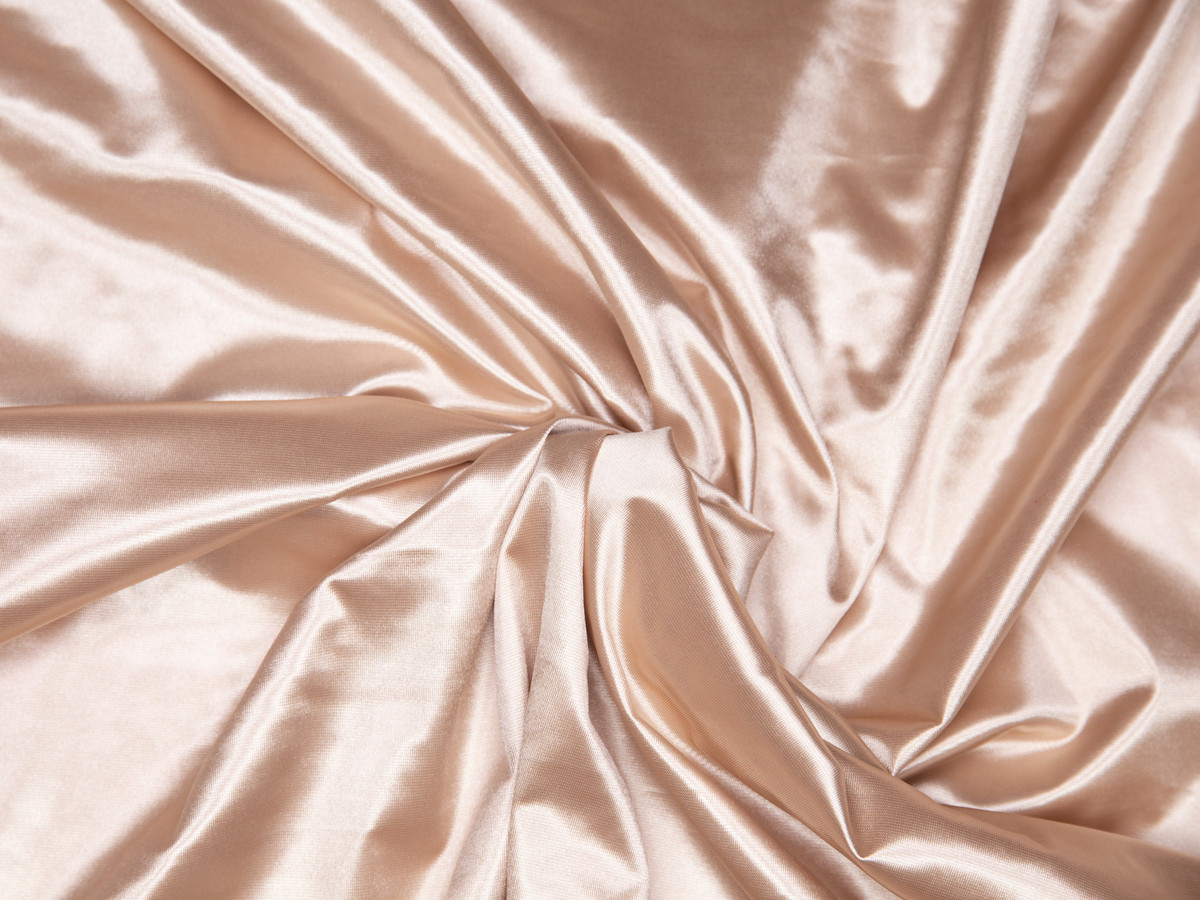 """Beige Lingerie Satin Cup Fabric 58"""" wide"""