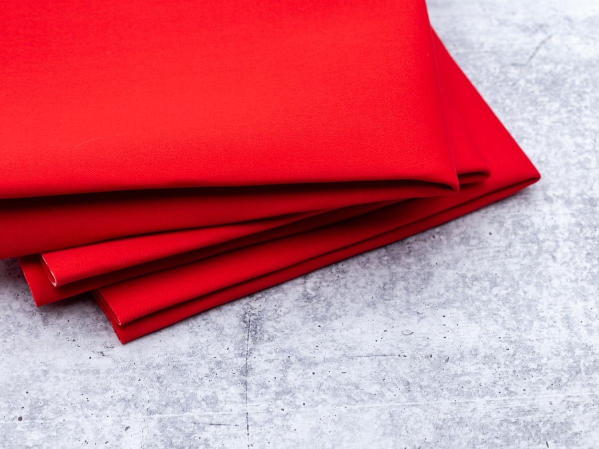 """Fat Quarter Red Cut and Sew Bra Foam 100% Poly Laminate Bra Foam 18""""x 29"""""""