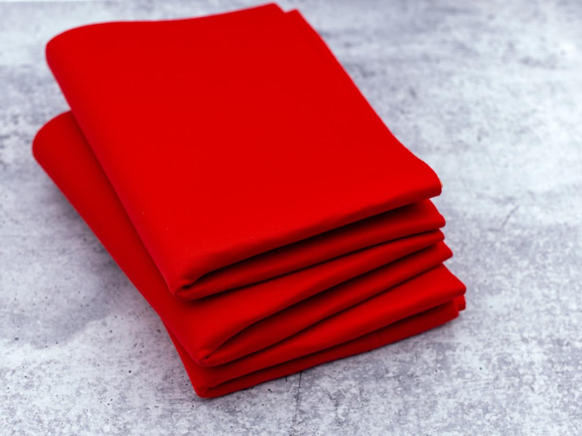 """Red Cut and Sew Bra Foam 100% Poly Laminate Bra Foam 58"""" Wide By The Yard"""