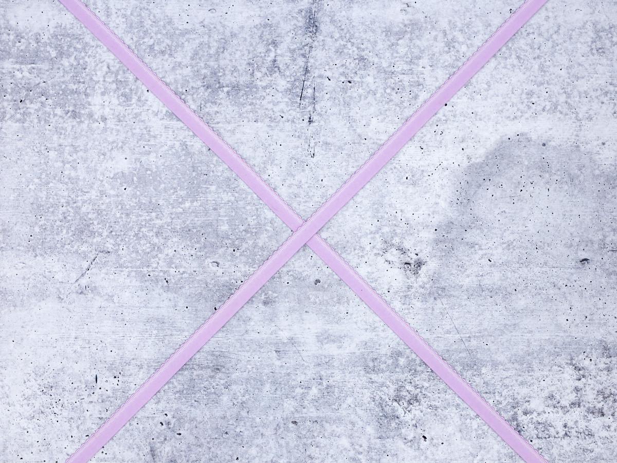 "1/2"" 12mm Lilac Plush Finishing Elastic Scalloped Edge"