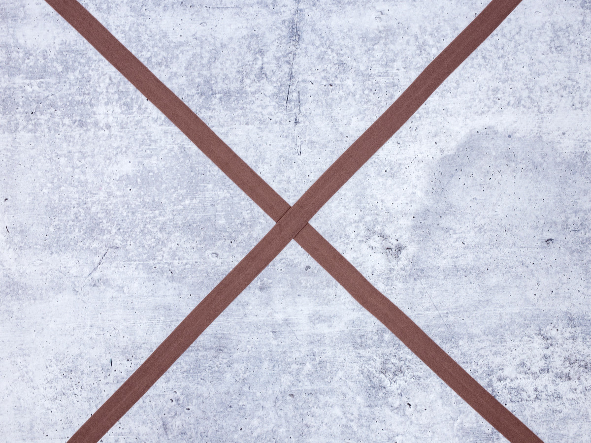 "3/4"" Chocolate Truffle Brown Foldover Elastic By the Yard FOE"