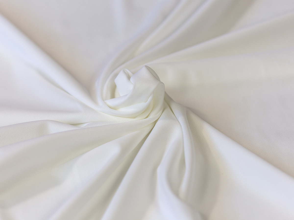 """White  Powernet 60"""" wide Dyeable 220gsm"""