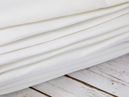 """White Cut and Sew Bra Foam 100% Poly Laminate Bra Foam 58"""" Wide By The Yard"""