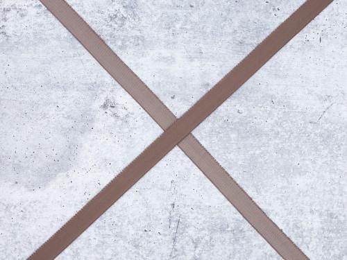 "3/4"" Chocolate Truffle Brown Plush Back Finishing Elastic Picot Edge Latex Free"