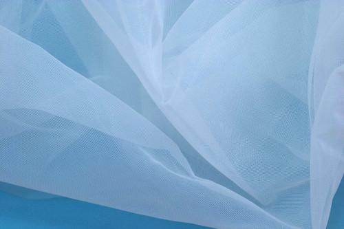"""White 60"""" wide Nylon Non Stretch Cup Lining +  Bridge Stabilizer"""