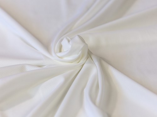 "White  Powernet 60"" wide Dyeable 220gsm"