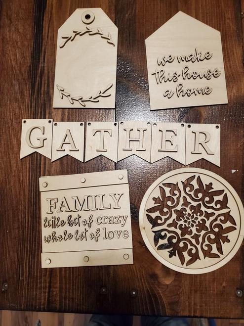 Family Tiered Tray Kit DIY