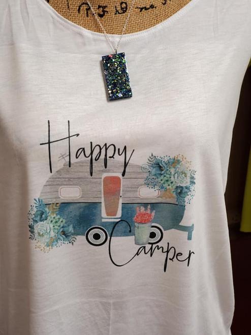 Happy Camper Sublimation Print
