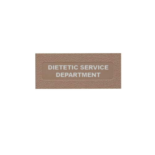 Dietetic Service Department: Top Open (MCMDSD2031-)