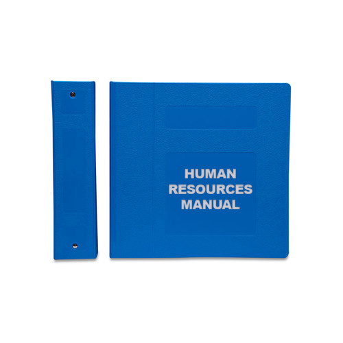 Human Resources Manual: Side Open (MCMHR2030-)