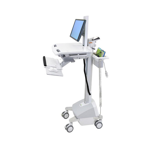 StyleView® Cart with LCD Pivot, LiFe Powered Documentation Medical Cart
