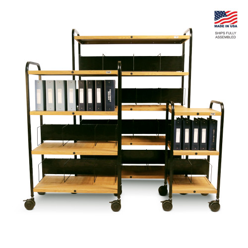 Mov-it Elite chart Rack: Series I Oak