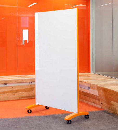 Mobile Glass Divider for Healthcare Infection Prevention and social distancing