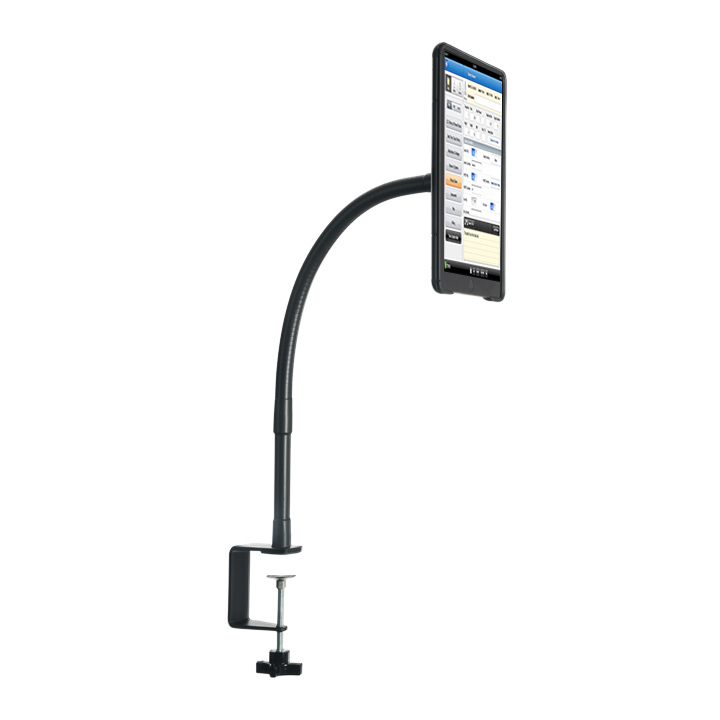 """The Fastn-it Magneflex (Black) 14"""" attaches firmly to any work surface, providing a convenient grab and go magnetic attachment point for hands free tablet use."""
