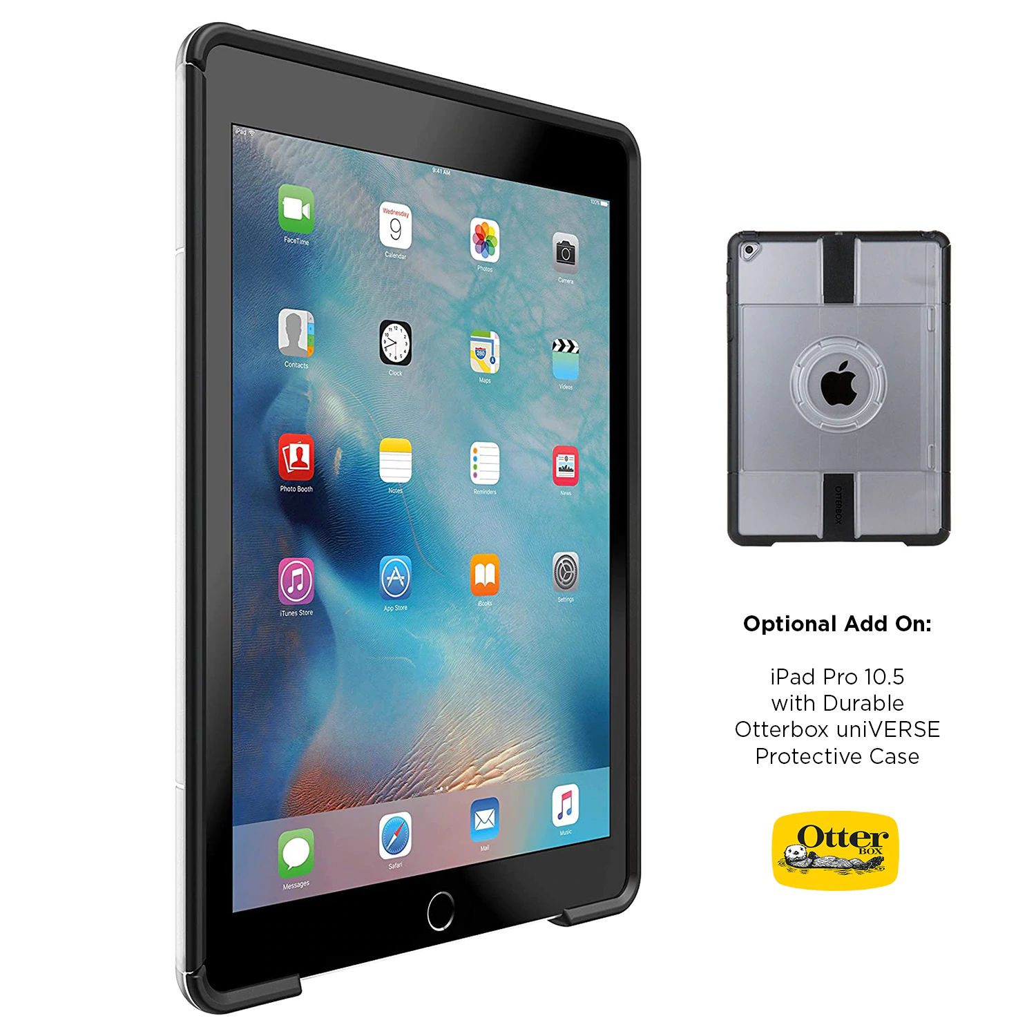 Add an iPad Pro and Otterbox uniVERSE or Defender Case to your order above for a complete package