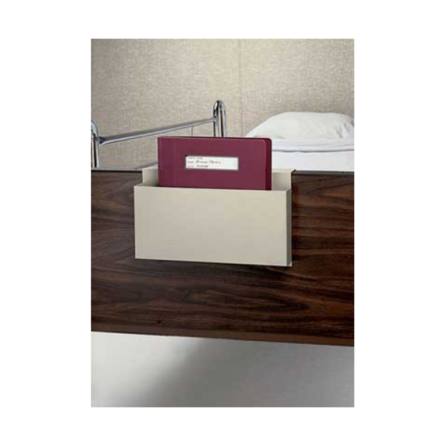 "Over-Bed Document Holder for clipboards, ½"",1"" or 1 ½"" Ringbinder charts, 14"" computer printouts or forms."
