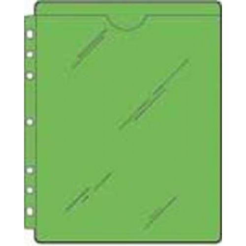 S/O Full Page Top Load Vinyl Sheet Protector (40)