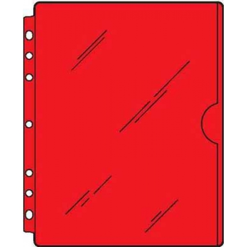 S/O Full Page Side Load Vinyl Sheet Protector (40)