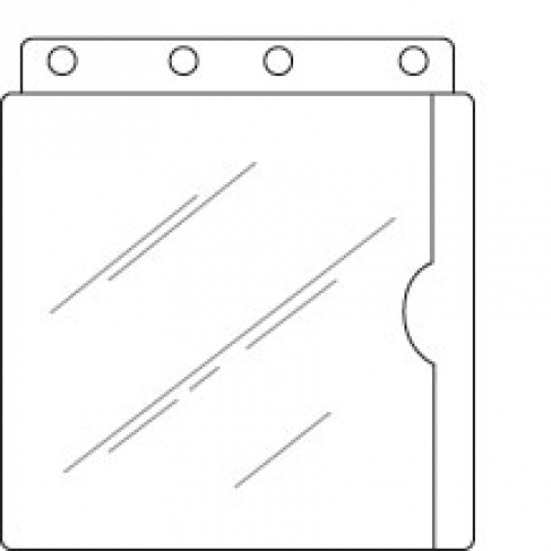 T/O Full Page Vinyl Sheet Picture Protectors